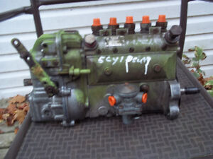 5CYL DEUTZ MOTOR AND INJECTOR PUMP