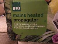 Main heated propagator