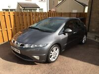 Honda Civic 1.8 i-vtech ES GT 5d lots of extras panoramic roof