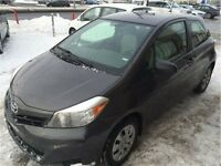 2012 TOYOTA YARIS IMPECCABLE!! 61.33$ / 2 SEMAINE!!! FINACEMENT!