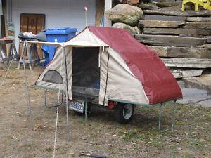 mini tente roulotte