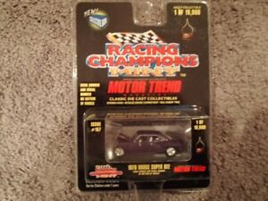 1:64 SCALE DIE-CAST 1970 DODGE SUPER BEE C-7 RACING CHAMPIONS MT