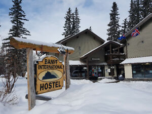 Monthly Rates Available @ Banff International Hostel!
