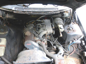 1981 Volvo 262C Coupe, rolling chassis