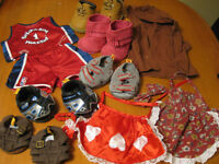 BUILD A BEAR LOT OF CLOTHES AND SHOES