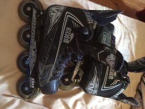 Patin a roues alignées/ roller blade