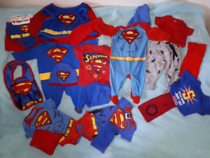 Baby Boys Super Heroes/Superman Lot Size 3/6mts
