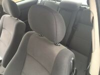Vauxhall Astra seats