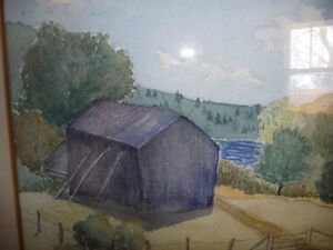 Co-Worker with Group of Seven,T. W. McLean, Original Watercolor Stratford Kitchener Area image 3