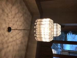 Dining room chandelier for sale.