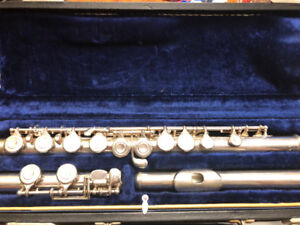Silver Flute plays beautifully