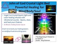 John of God Crystal Light Bed