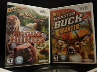 Nintendo Wii Hunting Games & Accessories