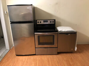 All whirlpool stainless steel stainless steel appalinces fridge