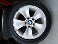 BMW rims and winter tires - 205/55/16