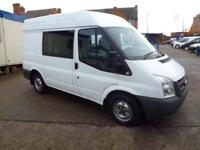 Ford Transit 2.2TDCi ( 85PS ) 280S ( Med Roof ) Double Cab-in-Van 280 SWB 2011