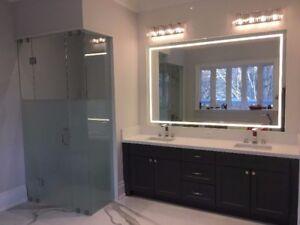 Shower Door/ Glass Stair/ Mirror