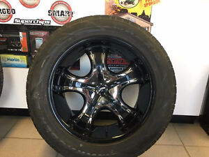 """20"""" Platinum wheels and Maxxis Tires- GM bolt pattern"""