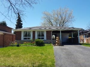 Available 1st Aug -  3 bed. North York bungalow near Fairview