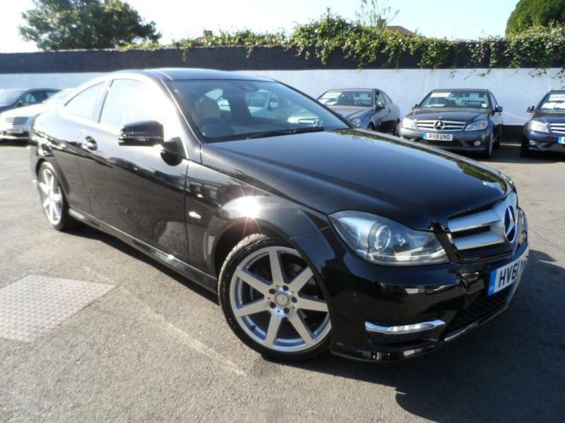 2011 mercedes c class c220 cdi blueefficiency amg sport ed125 2 1 diesel coupe c in eltham - Mercedes c220 coupe amg sport ...