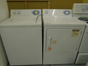 Matching GE washer and dryer set