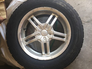 NORDIC GOOD YEAR TIRES ON RIMS p205/65r15