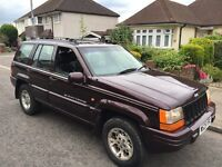 Jeep Grand Cherokee one years MOT, excellent engine and gearbox £555