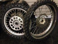 Honda wheels.