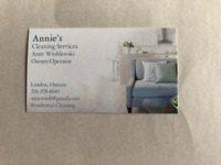 Annie's Cleaning Services