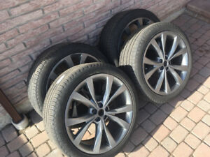 Set of 4 Tires for 2015/2016 Ford Edge