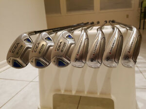 Adams Golf - Idea a7OS Max Hybrid 4h,5h,6h,7-PW Iron Set