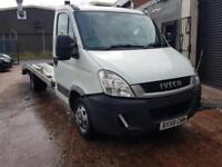 2009 IVECO DAILY 35C12 3.0 LWB RECOVERY TRUCK BEAVERTAIL 3.5 TONNE