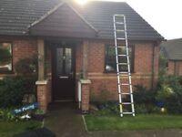 Telescopic ladder,very good condition.