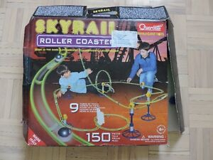 QUERCETTI ITALY ROLLER COASTER TRACK GAME.
