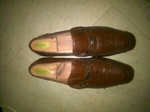 melzan alligator skin shoes