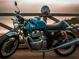 Royal Enfield Continental GT 650 Twin Cafe Racer Modern Classic Motorcycle