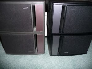 Four (4) Bose 141 speakers