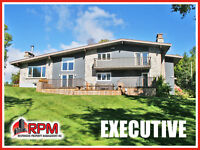 STUNNING EXECUTIVE HOME w/Waterview in Private Park-Like Setting
