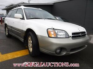 2000 SUBARU OUTBACK LIMITED 4D WAGON LIMITED