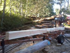 Custom Sawmill and Timbers
