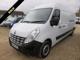 2014 64 RENAULT MASTER 2.3 LM35 ENERGY DCI LWB MEDIUM ROOF 125 BHP 23 MILES ONLY