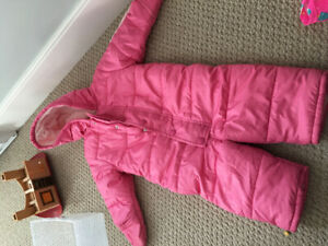 Girls 18-24 month snowsuit