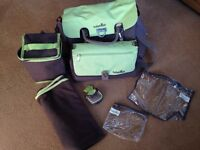 Babymoov baby changing bag-only used a couple of times