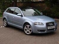 FINANCE AVAILABLE!!! 2006 AUDI A3 2.0 TDI SPORT 3dr, 6 SPEED, FSH, 1 OWNER,