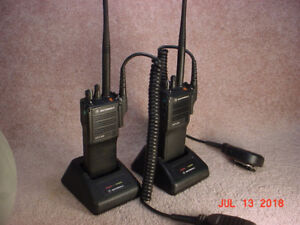 For Sale: Pair Motorola MTX838 16 Ch VHF Portable Radios