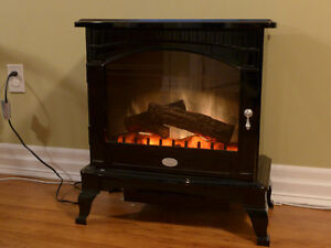 Dimplex Electric 'Wood Stove' Fireplace