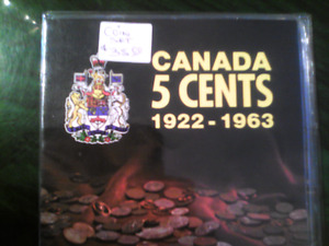 CANADIAN 5CENT COLLECTION