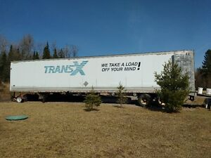 Reefer Trailer for Sale for Dry Storage, 53'