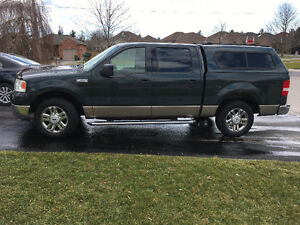 2004 Ford F-150 Silver Pickup Truck