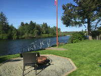 fully furnished Cabin on the Campbell River